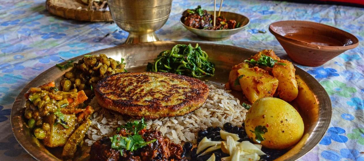 Newari Food Platter. Photo: Sudeep Singh