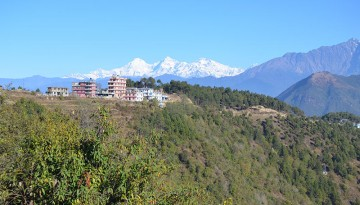 Chisapani with Himalayas on backdrop. Photo: RMT