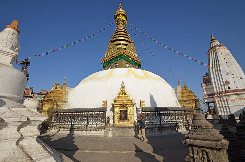 Peaceful environment around Bouddhnath Stupa. Photo: Tashi Sherpa