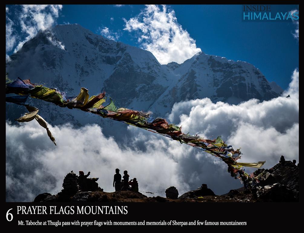 6 prayer flags