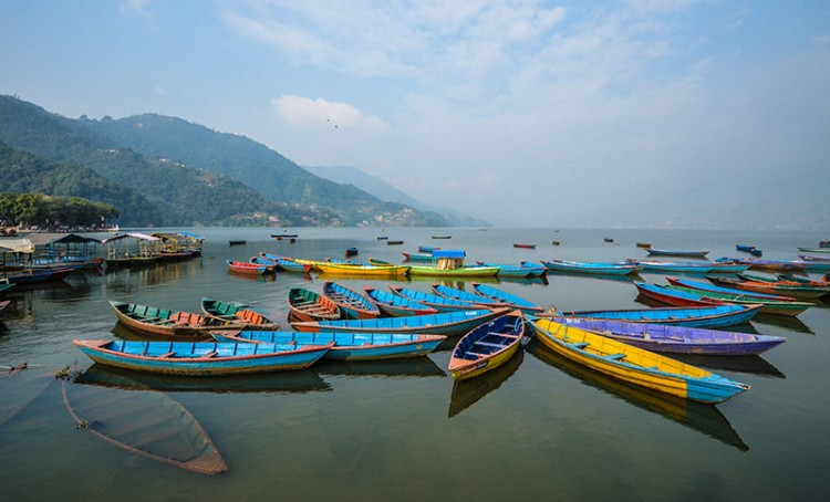 Fewa lake, Pokhara. Photo: Sudeep Singh