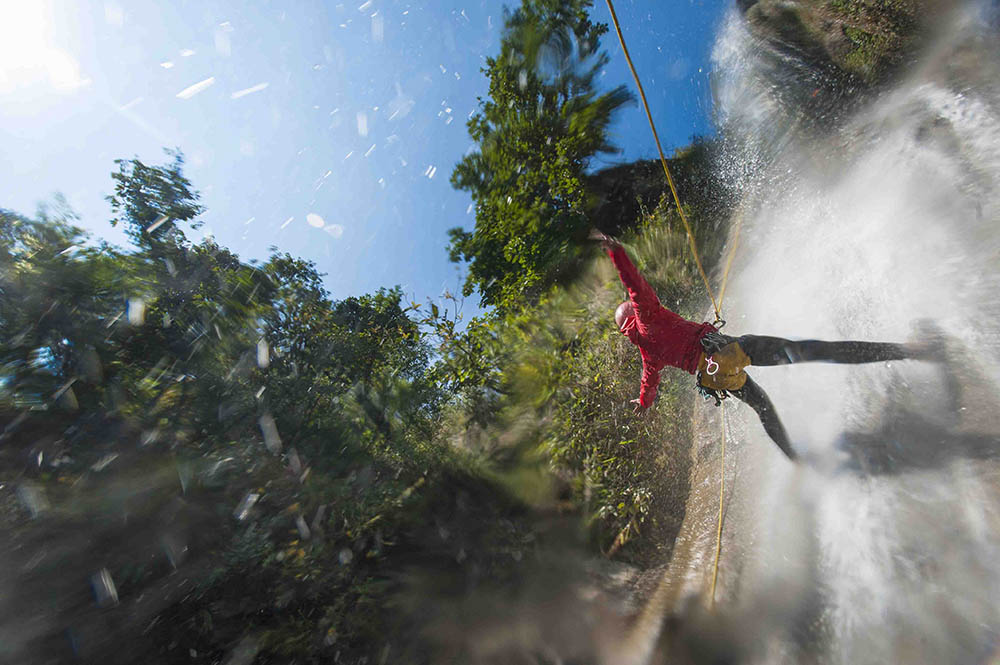 Canyoning in The Last Resort