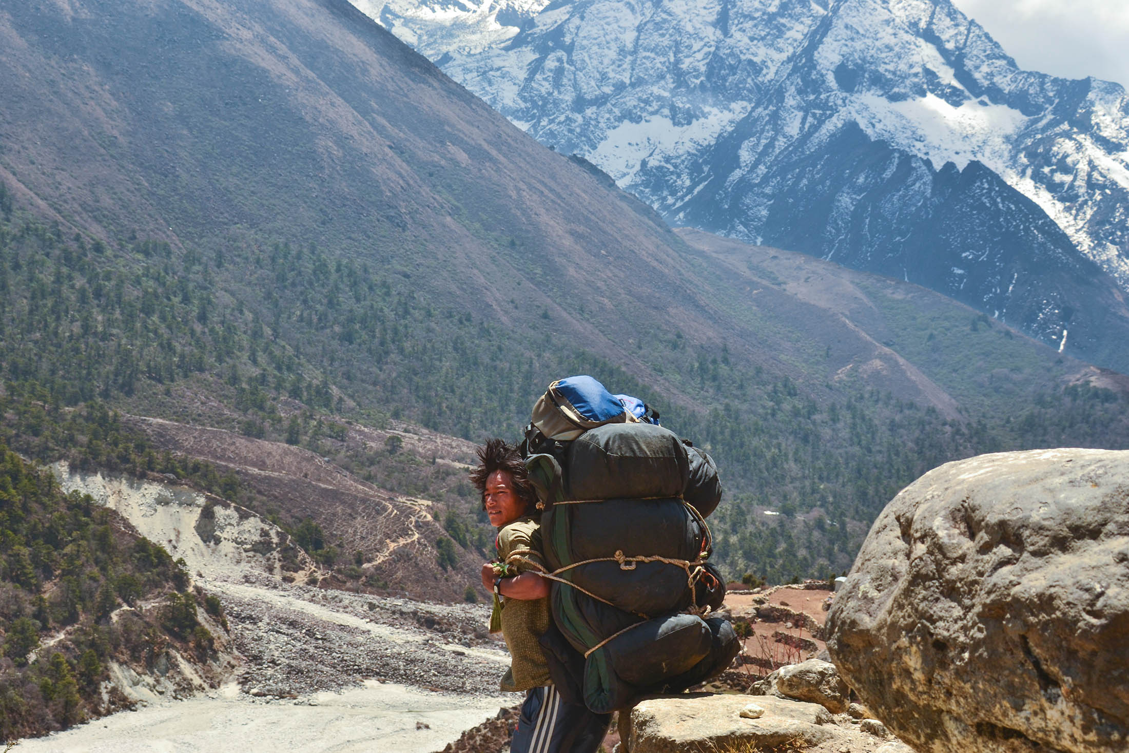Real Heroes of the Himalayas; Everest Potters.