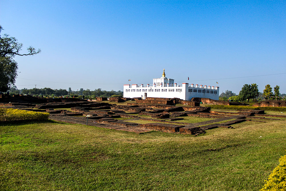 Lumbini, the birth place of Lord Buddha