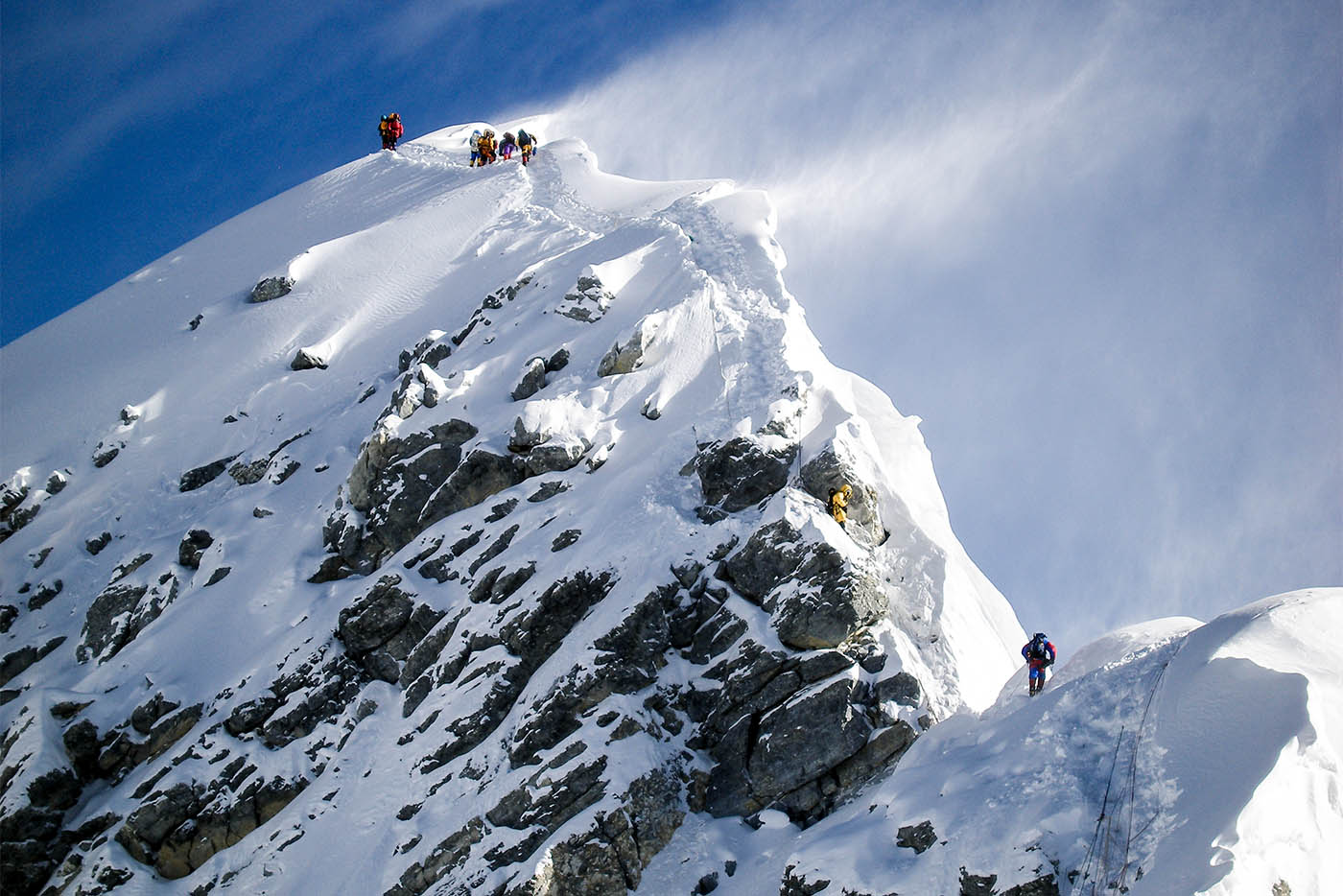 Tallest mountain in the world, Everest - 8848 meters.