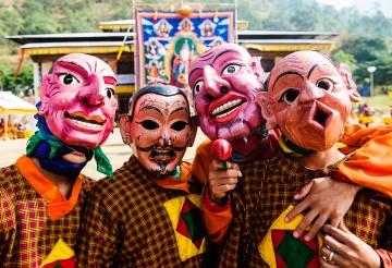 Bhutan's Colourful Tshechu Festival