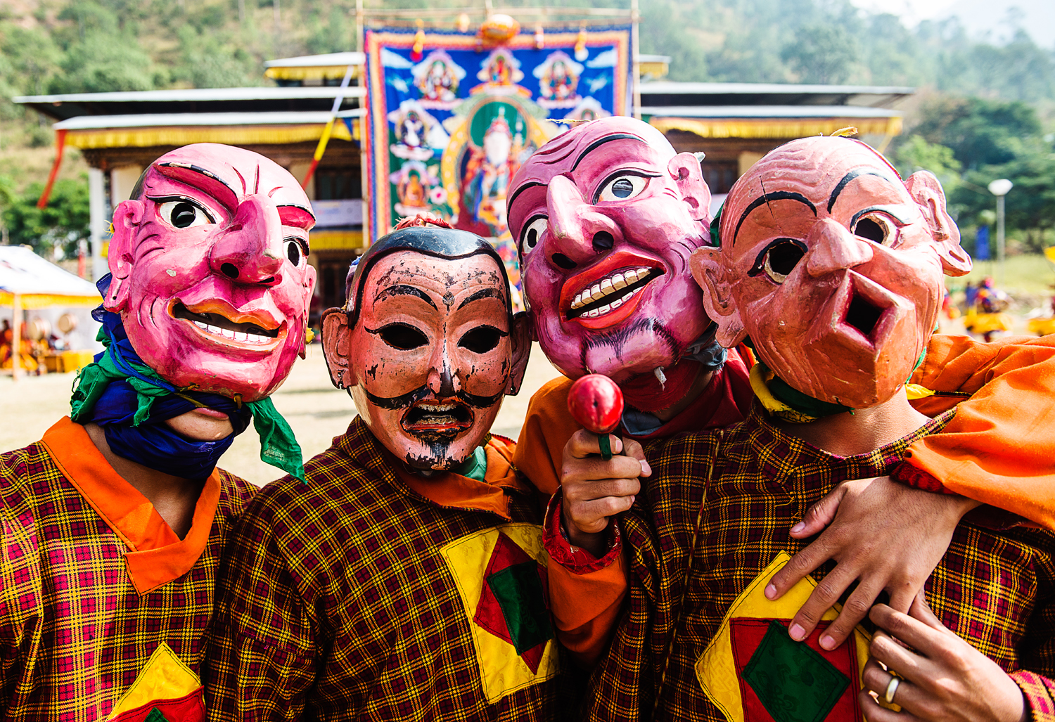 Stunning Images of Bhutan's Colourful Tshechu Festival