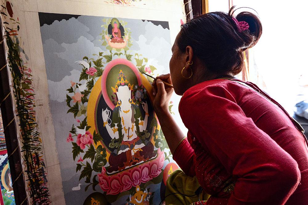 thanka-painting-nepal