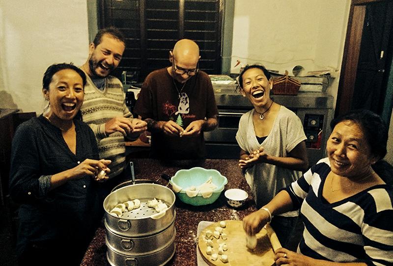 Momo Making (and Eating) in Nepal