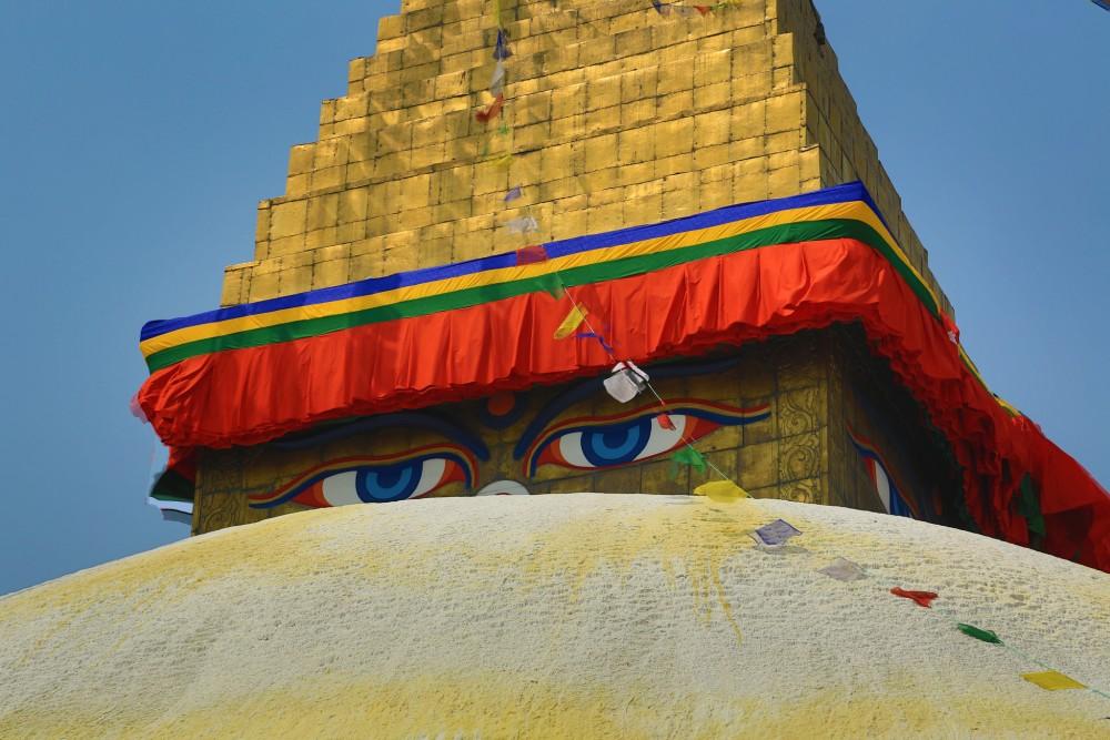 Boudhanath Stupa, As Good as New Again