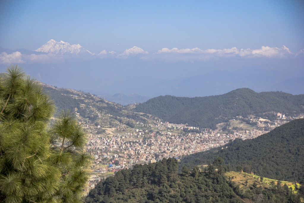 overlooking-banepa-valley-during-the-hike