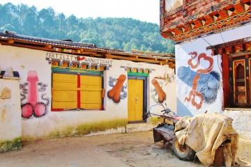 The Friendly Phalli that Protect Bhutan