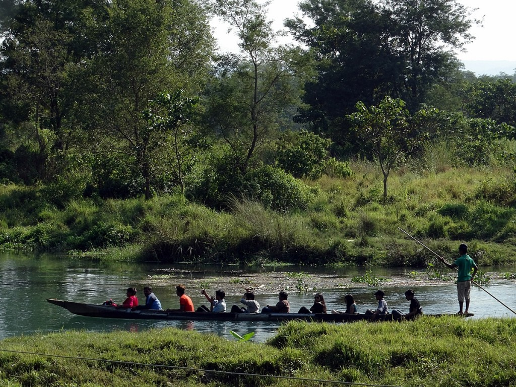 Cycling through the Villages of Chitwan