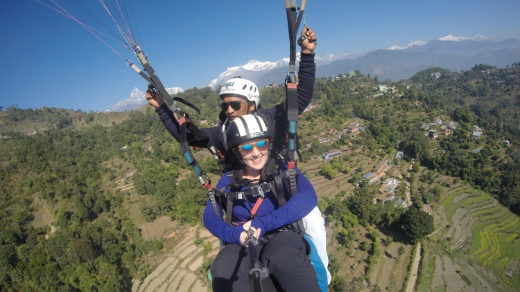 Flying High: Paragliding in Pokhara