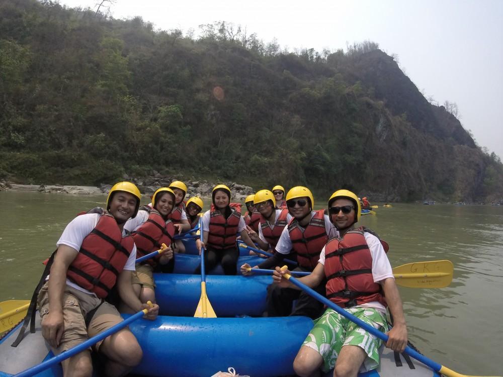 True Adventure on the Trisuli River