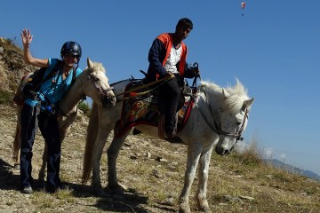 Horse Riding to Sarangkot, Pokhara