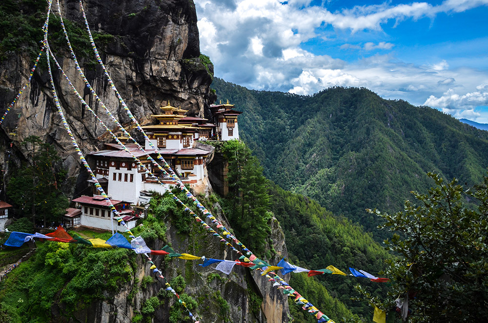 Trek to Tiger's Nest, Bhutan