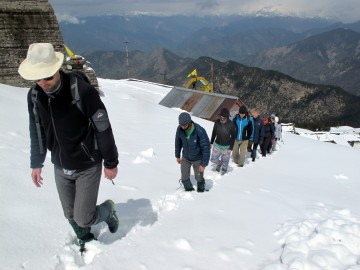 Winter Trekking in the Indian Himalayas