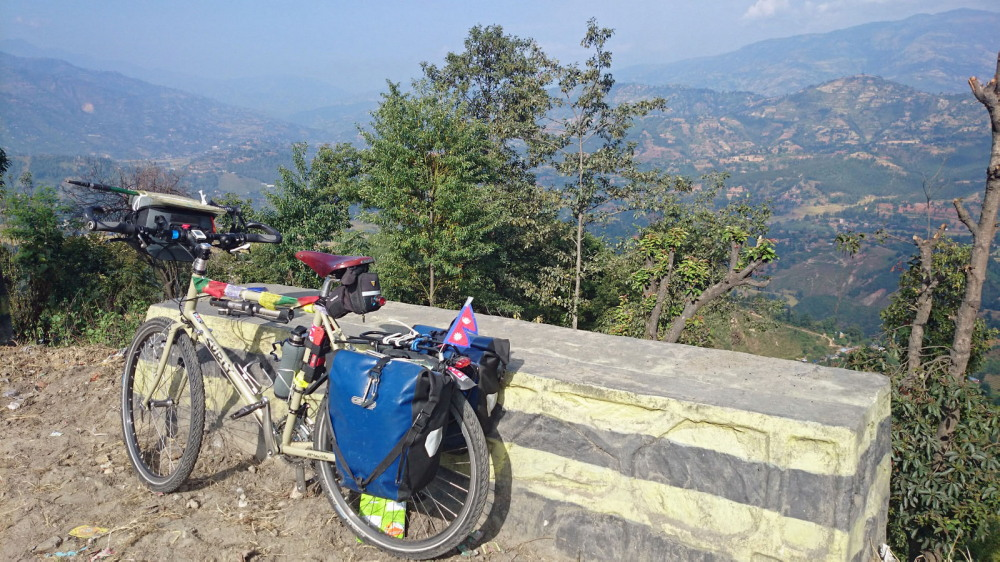Cycling in the Kathmandu Valley