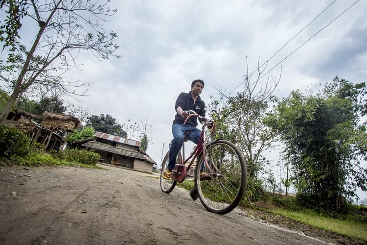 cycling-in-chitwan