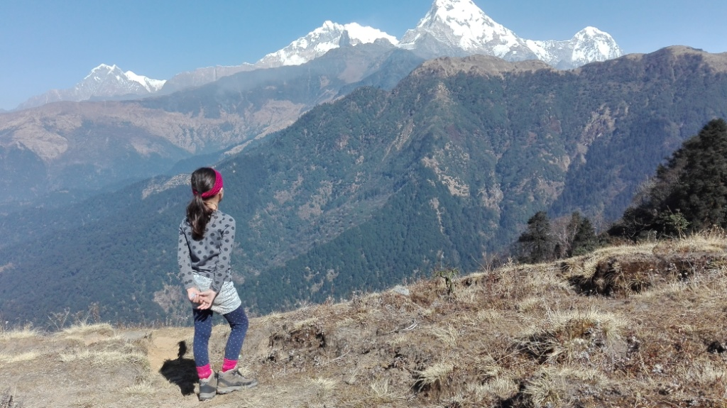 Trekking with a Child in the Nepali Himalayas