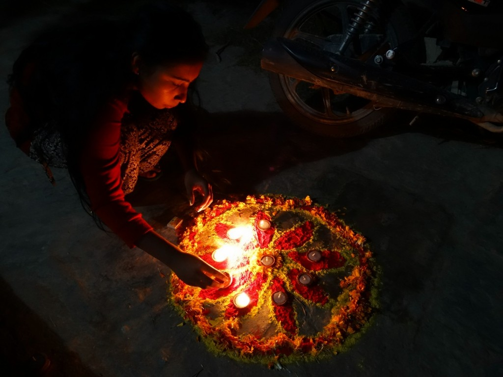Celebrating Tihar, the Festival of Lights
