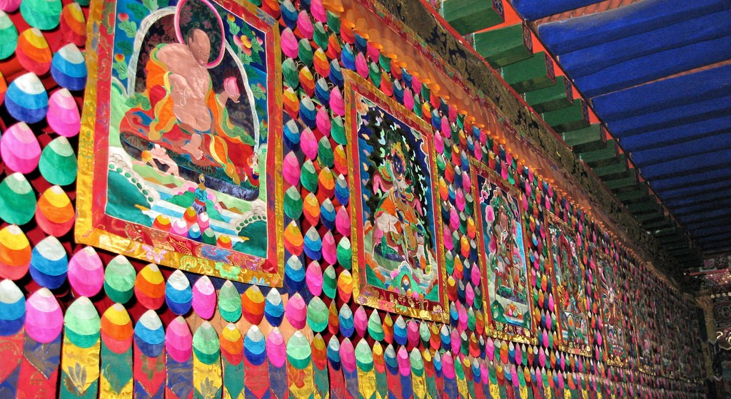 Shopping for Thangkas in Bhutan and Nepal