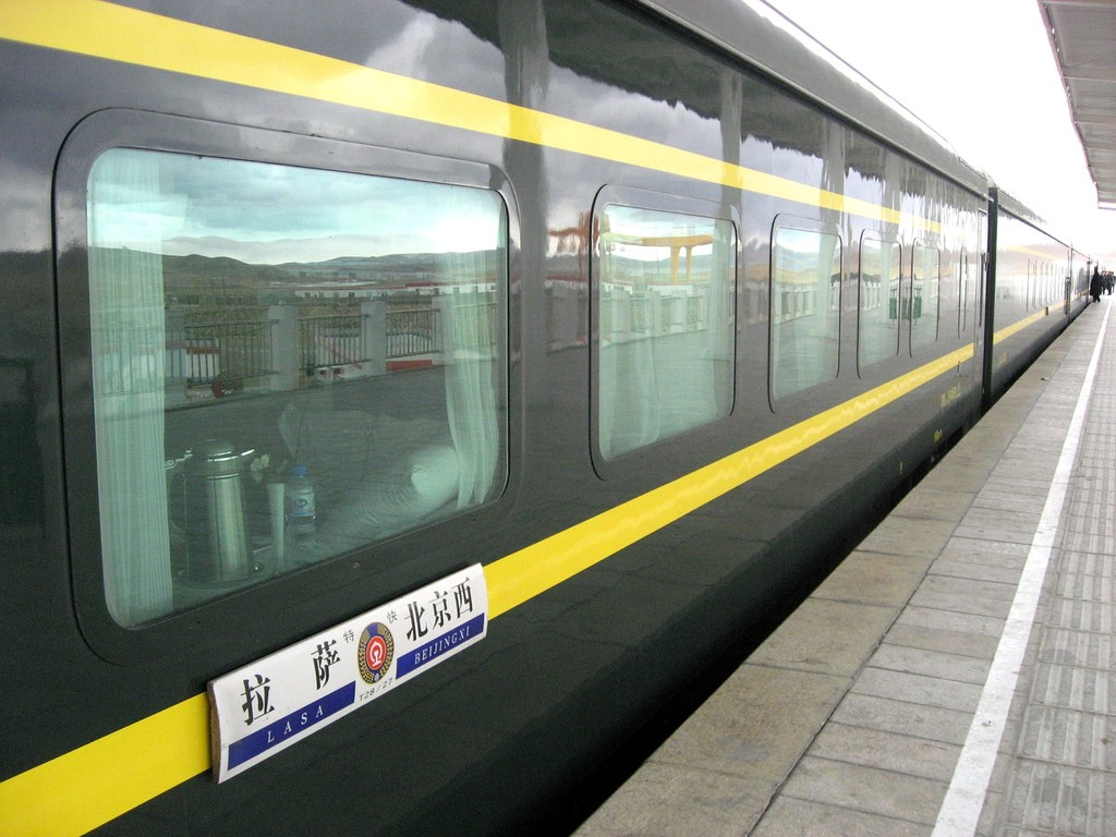 Travelling to Tibet by Train