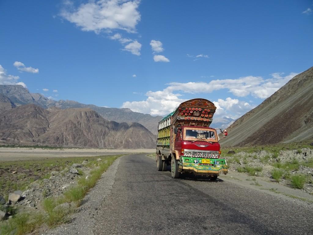 A Bold Woman's Motorbike Trip across the Pakistani Himalayas
