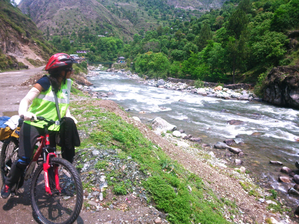 Pushing Through Pain While Cycling in Himachal Pradesh