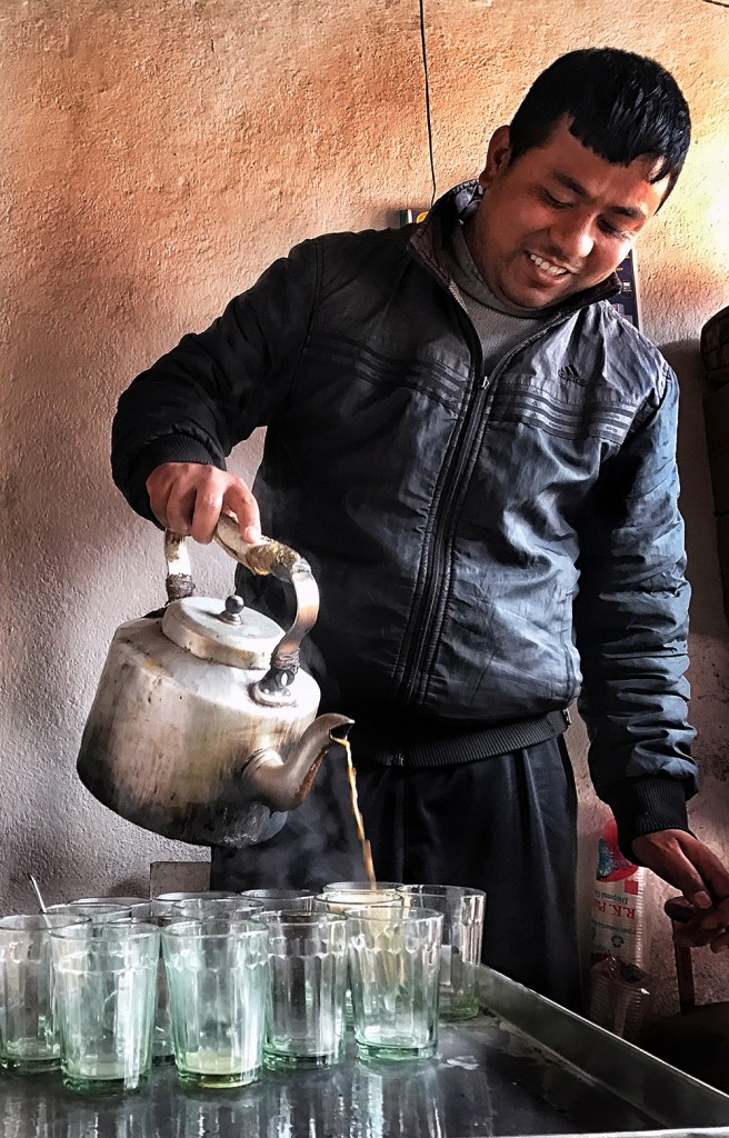 Chiya Khayo? Traditional Nepali Tea and Snacks