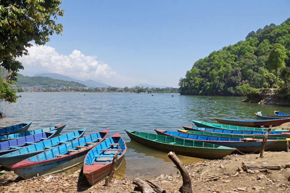 Boating in Pokhara. Photo: Allie_Caulfield/Flickr