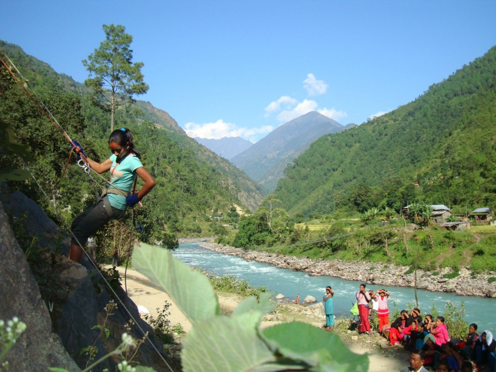 Great Places to Go Rock Climbing Around Kathmandu