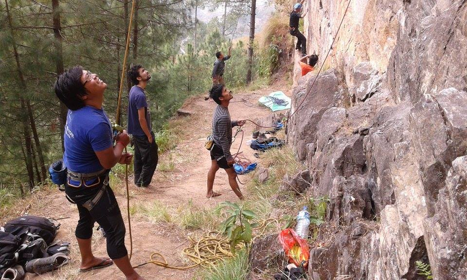 Great Places to Go Rock Climbing Around Kathmandu