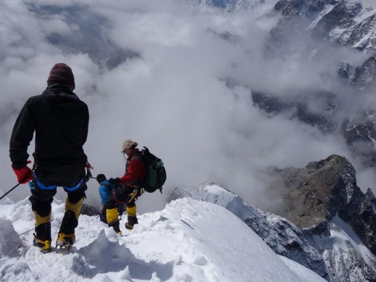 An Adventure on Lobuche East Peak