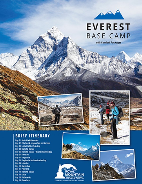 Experience Everest Base Camp With Comfort Package