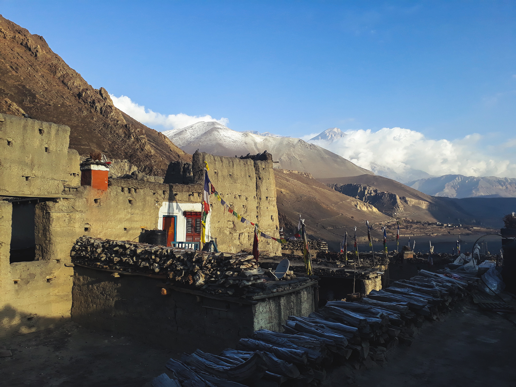 Lower Mustang, a Land of Lamas and Buddhism