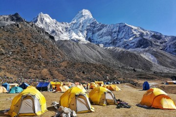 The Ama Dablam Base Camp Hike