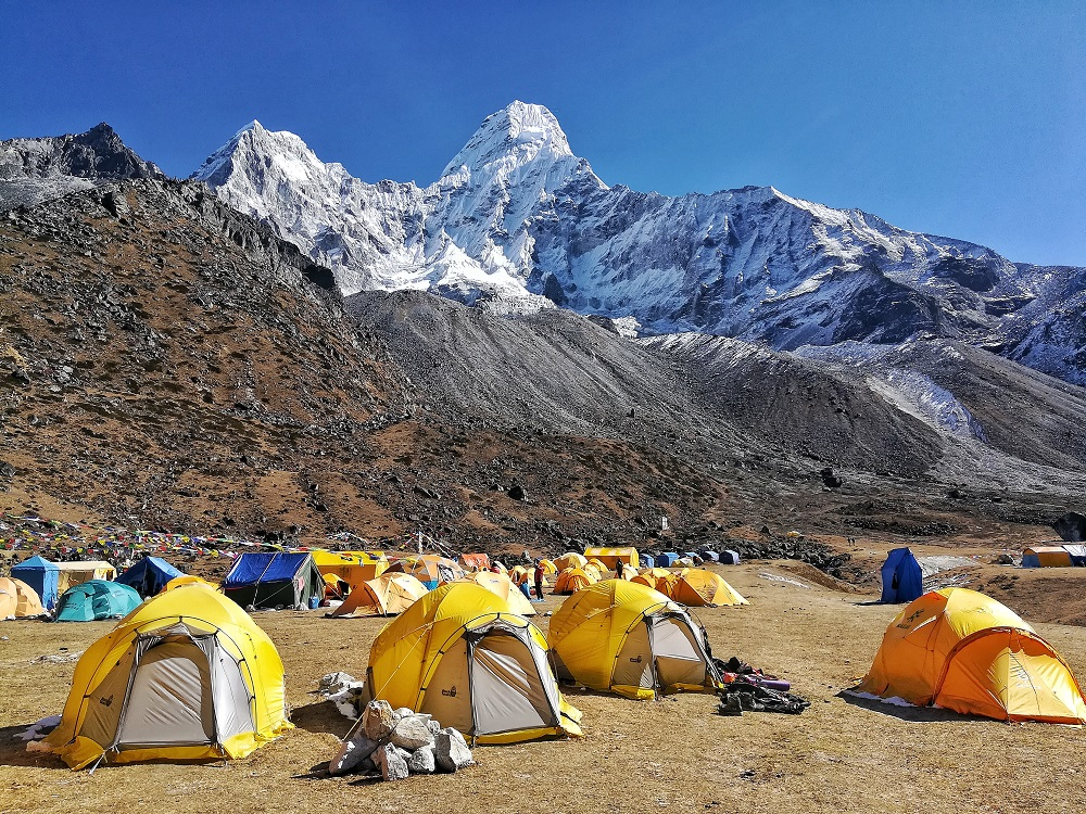 The Ama Dablam Base Camp Hike