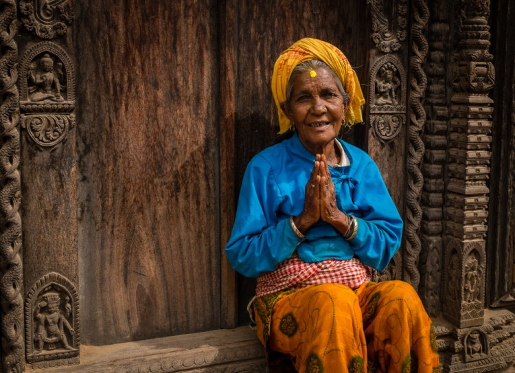 12 Beautiful Portraits of Nepali People