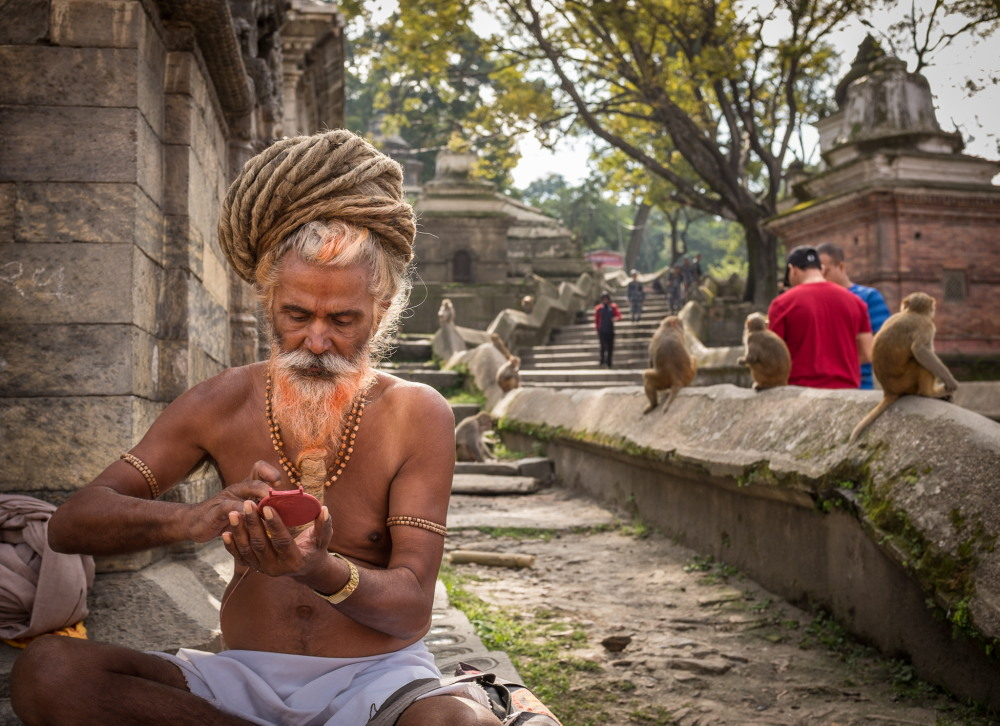 12 Beautiful Portraits of Nepali People