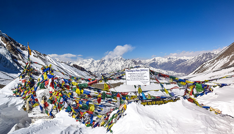 the high passes could be covered in snow in winter, so check local forecast. Photo: Ashok Amatya