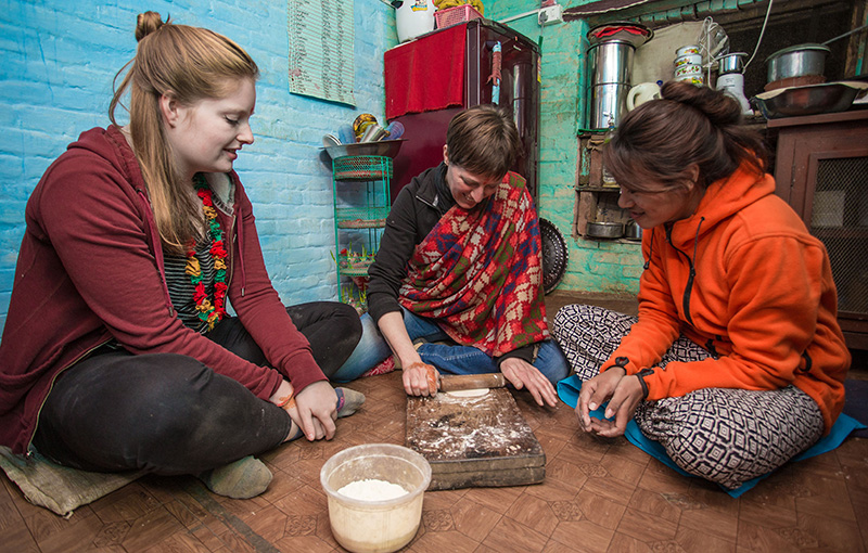 cooking-panauti-community-homestay