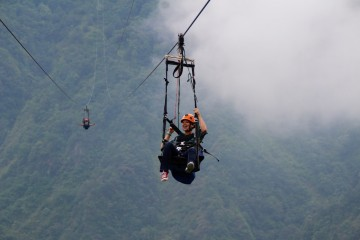 Fly Like a Bird While Ziplining in Pokhara