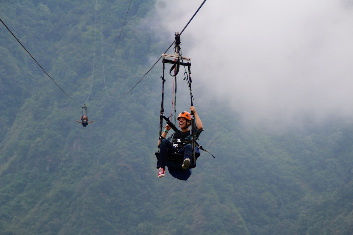 Fly Like a Bird While Ziplining in Pokhara