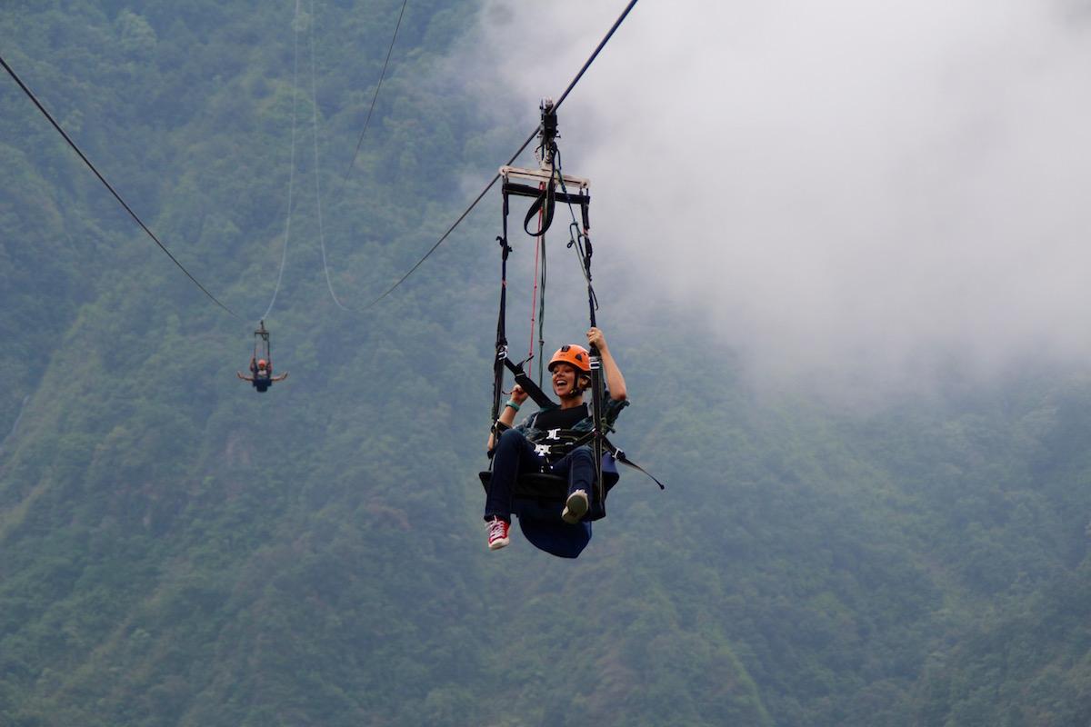 Fly Like a Bird While Ziplining in Pokhara - Inside Himalayas