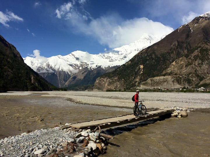 Mountain Biking Around Lower Mustang