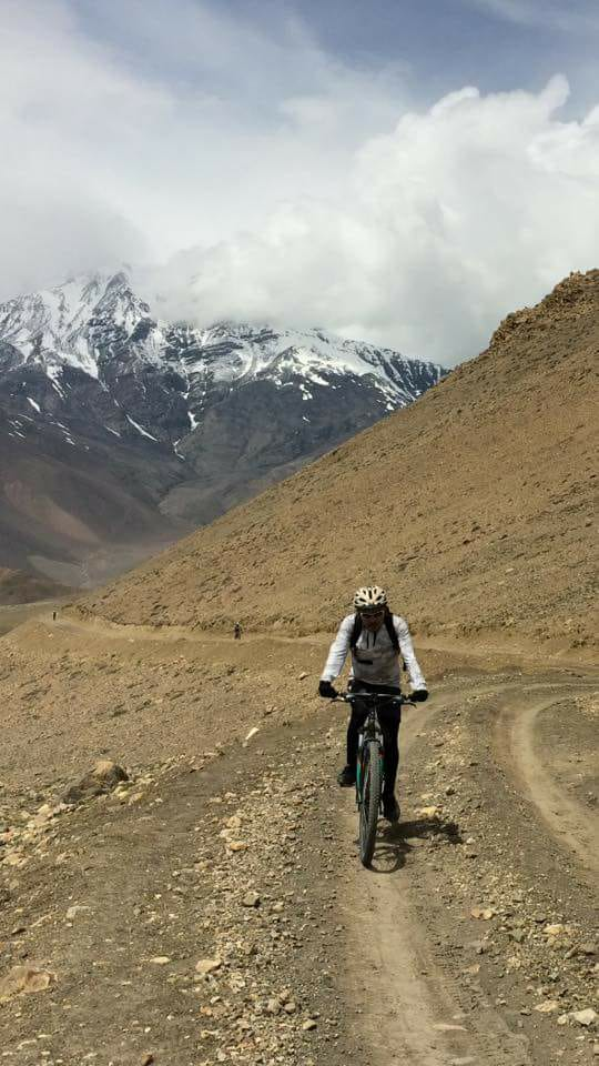Mountain Biking Around Lower Mustang