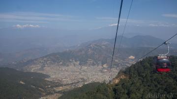 The Chandragiri Cable Car in Kathmandu