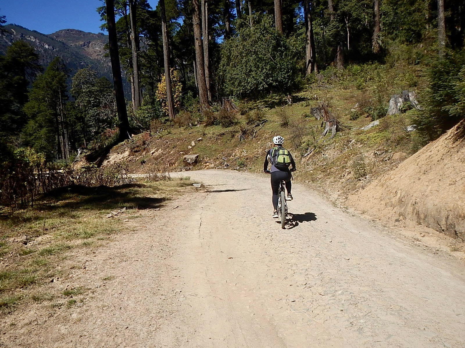 Mountain Biking in Bhutan